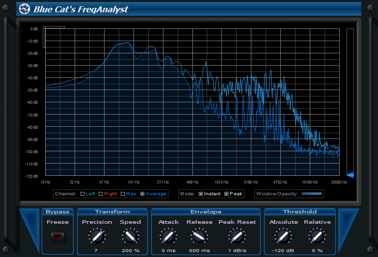 Blue Cat Audio FreqAnalyst