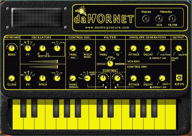 DaHornet freeware