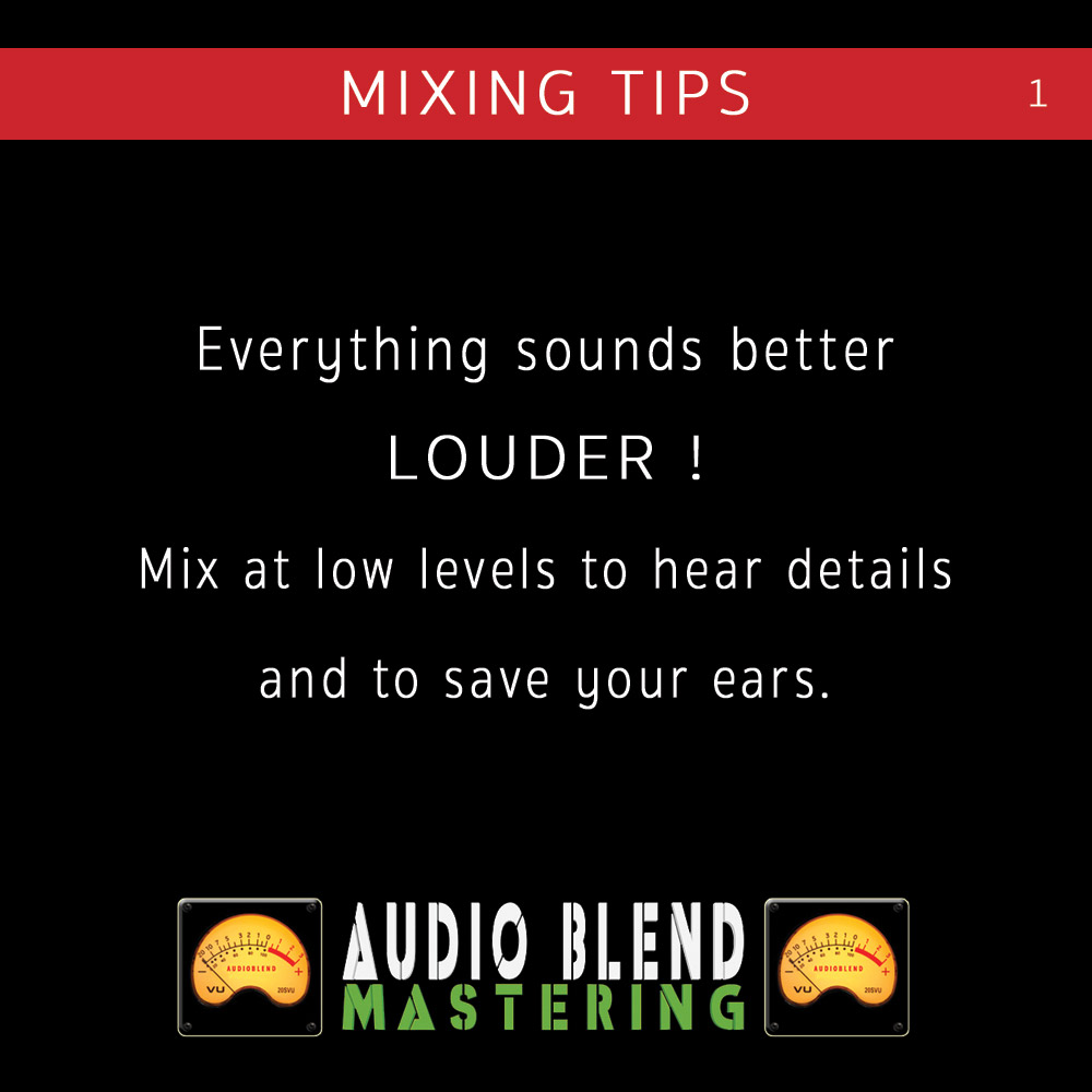 mixing and mastering tips and tricks part one